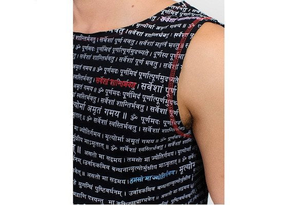 Yoga top for men - Mantra - Organic with stretch-cool - SustainTheFuture - 1