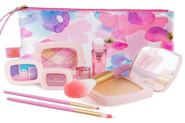 Makeup Set For Children by Glamour Girl Pretend Play Make up Kit Great For Littl - SustainTheFuture - 2