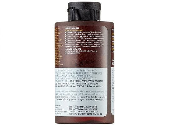 KORRES Magnesium and Wheat Proteins Shampoo 250 ml Prevent hair-loss and improve - SustainTheFuture - 1