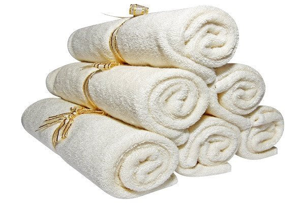 Bamboo Baby Wash Cloths, Organic, Luxury (6pack 27cm) Best for Reusable Baby Wip - SustainTheFuture - 1