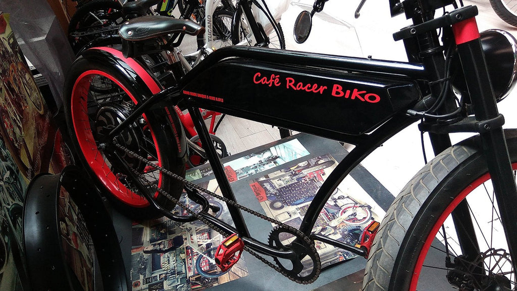 CAFE RACER - Our Hand Made e-Bike - Special Collectors' Edition - One of a kind models - We offer your e-bike made to mesure, ask us for a budget!! - SustainTheFuture - 3