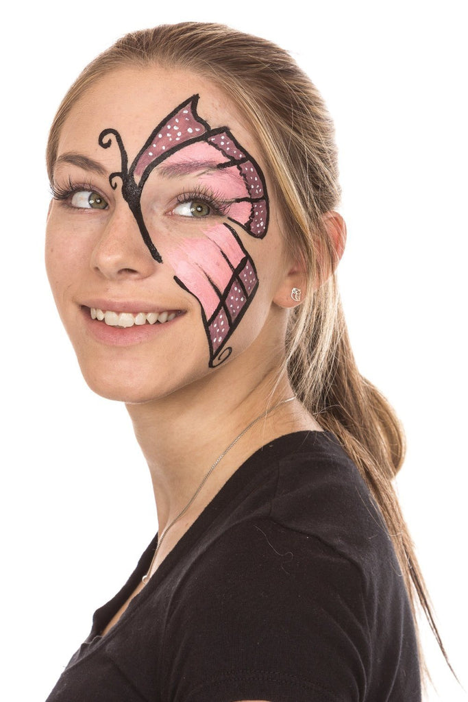 Face Painting Kit - Nontoxic And Irritation-Free - Paint Flags, Superheroes, Ani - SustainTheFuture - 6