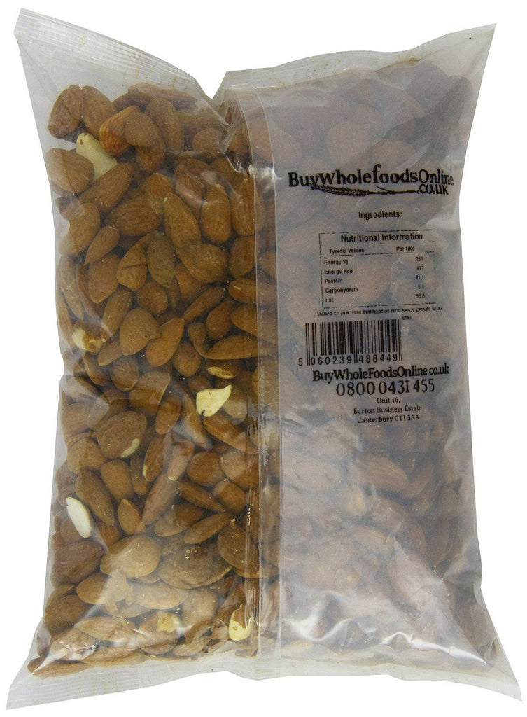 Buy Whole Foods Organic Almonds 1 Kg - Certified Organic,  Can be enjoyed as a s - SustainTheFuture - 2