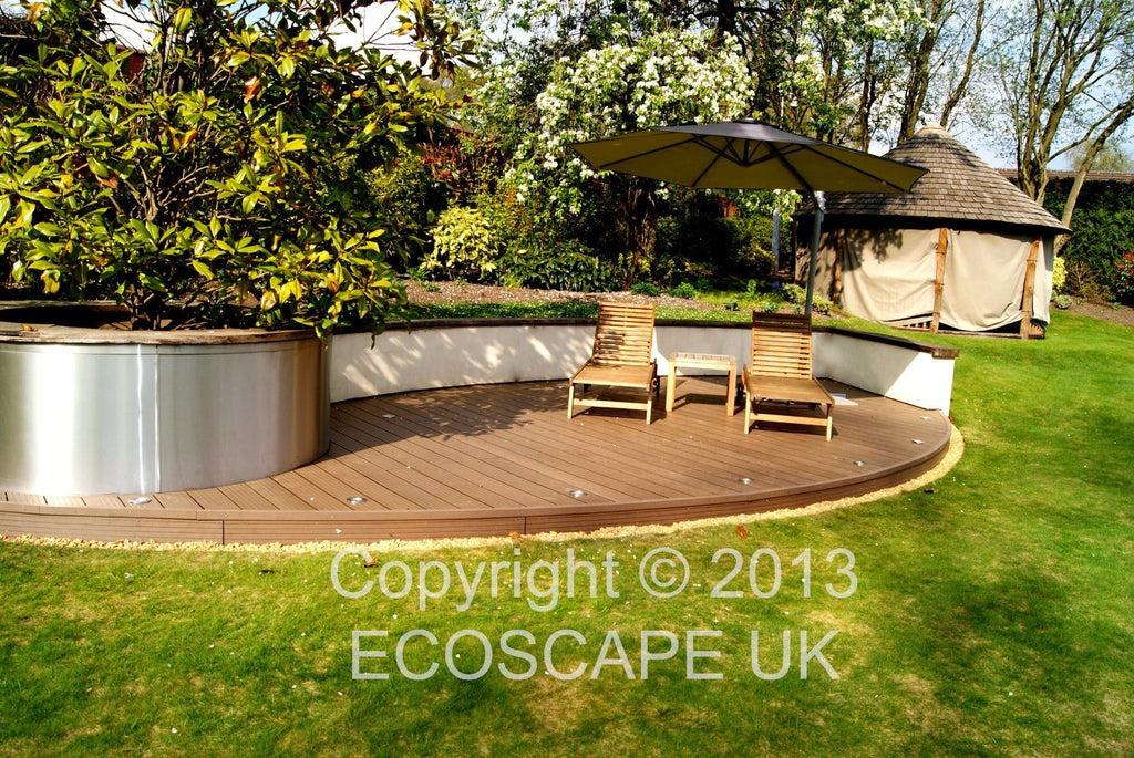 Ecoscape UK Composite Decking Autumn 2.9m Length. Low maintenance; No need to pa - SustainTheFuture - 8