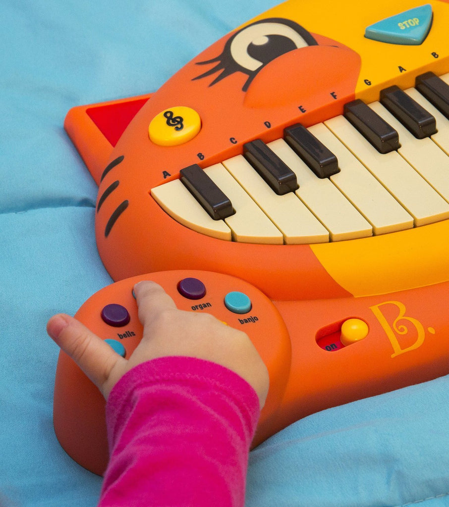 B Meowsic Music Set.  Lovely cat face with the key board in the mouth - 20 famil - SustainTheFuture - 4