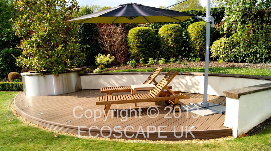 Ecoscape UK Composite Decking Autumn 2.9m Length. Low maintenance; No need to pa - SustainTheFuture - 9