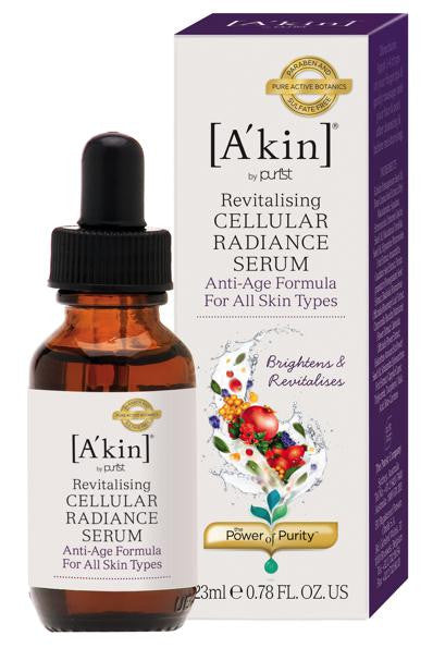 A'kin Pure Alchemy Cellular Radiance Serum. Helps to reduce the appearance of fine lines and - SustainTheFuture - 2