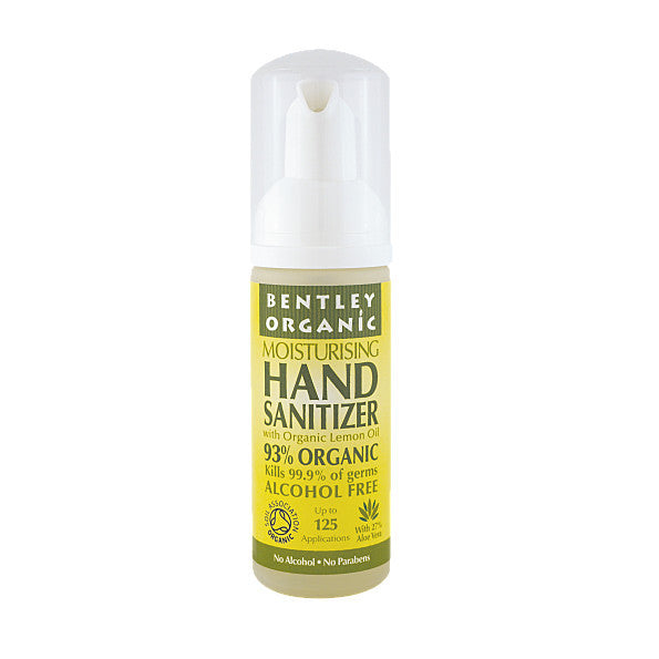 Bentley Organic Hand Sanitiser. is made with a unique formula that is gentle on you - SustainTheFuture - 2