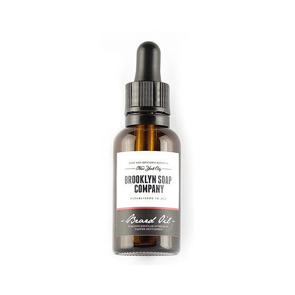Brooklyn Soap Beard Oil. The particularly high portion of organic jojoba and argan oil nourishes - SustainTheFuture - 2