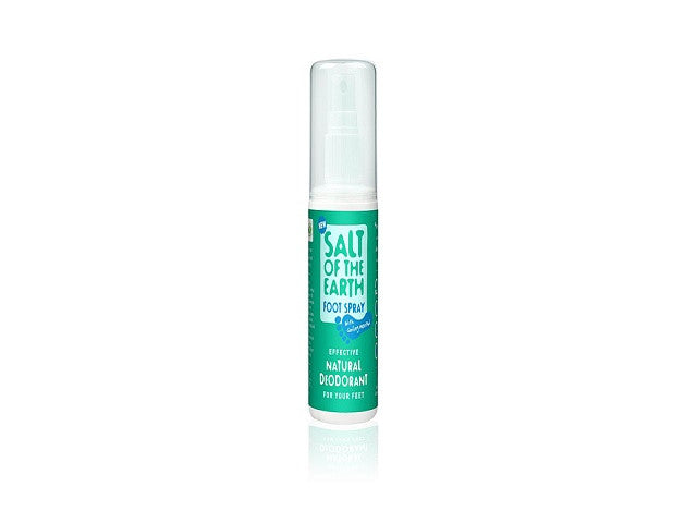 Crystal Spring Salt of the Earth Foot Spray. whilst simultaneously cooling and soothing tired toes. - SustainTheFuture - 1