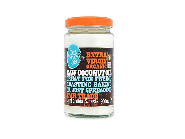 Lucy Bee Sri Lankan Extra Virgin Organic Coconut Oil - 500ml. Natural hair serum - it penetrates - SustainTheFuture - 1