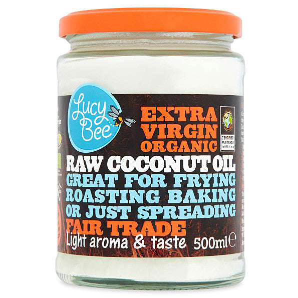 Lucy Bee Sri Lankan Extra Virgin Organic Coconut Oil - 500ml. Natural hair serum - it penetrates - SustainTheFuture - 2
