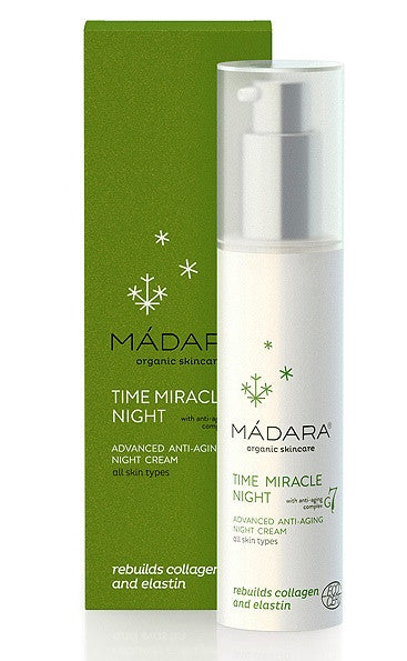 Madara Time Miracle Anti Aging Night Cream. For all skin types Ecocert Organic Certified - SustainTheFuture - 2