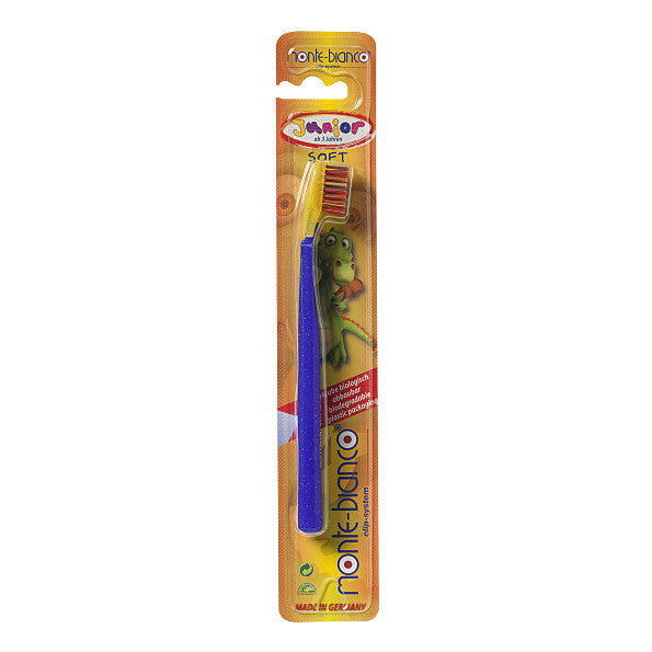 Monte Bianco Junior Toothbrush - Nylon, Soft. Packaging is made from recycled material - SustainTheFuture - 2