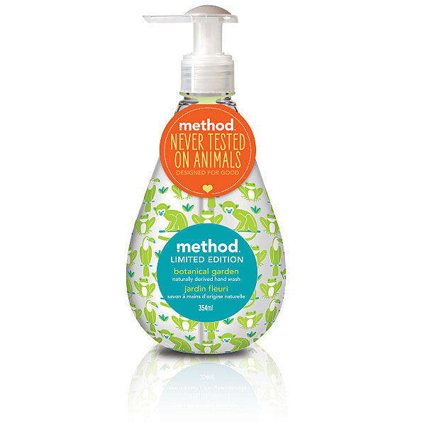 Method Hand Wash Designed For Good - Botanical Garden. It's almost as good as the real thing - SustainTheFuture - 2