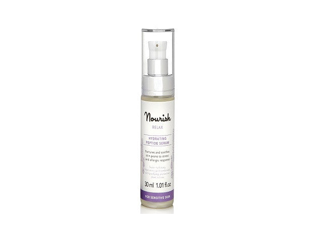 Nourish Relax Hydrating Peptide Serum (for sensitive skin). To retexture & smooth skin - SustainTheFuture - 1
