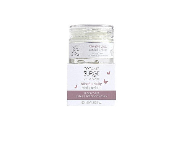 Organic Surge Blissful Daily Moisturiser. softens, nourishes and rehydrates normal skin. - SustainTheFuture - 1