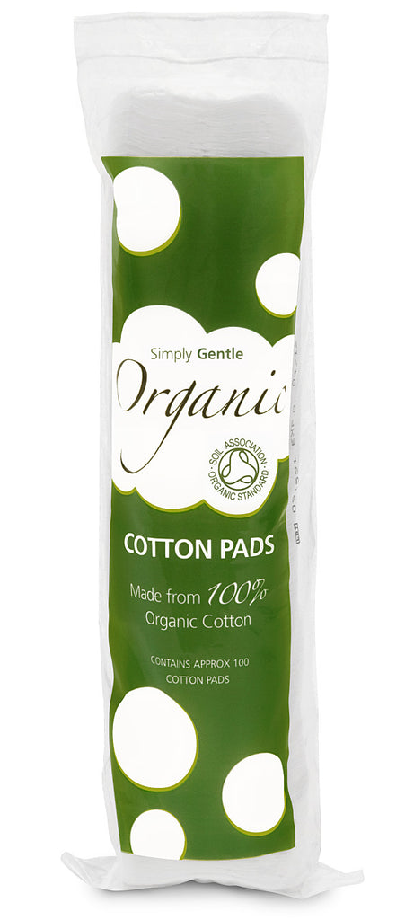 Simply Gentle Organic Cotton Wool Pads. 100% Organic Cotton Wool, certified by the Soil - SustainTheFuture - 2