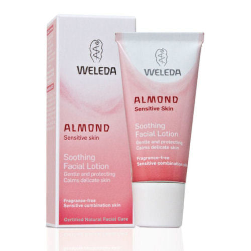 Weleda Almond Soothing Facial Lotion. s a mild, unperfumed, hydrating moisturiser  made from - SustainTheFuture - 2