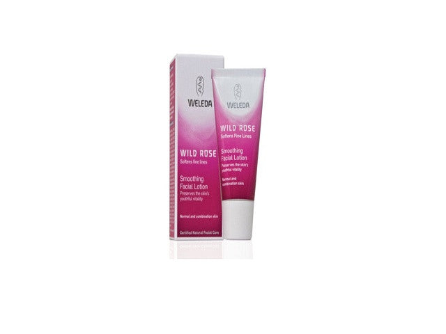 Weleda Wild Rose Smoothing Facial Lotion. Light, smoothing moisturiser for normal and - SustainTheFuture - 1