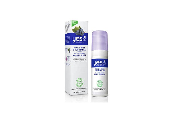 Yes To Blueberries Daily Repairing Moisturiser. Targets fine lines and wrinkles 97% Natural - SustainTheFuture - 1