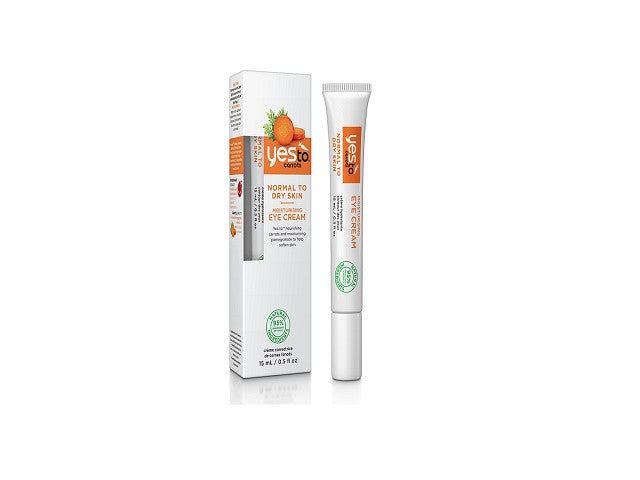 Yes To Carrots Moisturising Eye Cream. Dead Sea Minerals Formulated without Parabens, - SustainTheFuture - 1