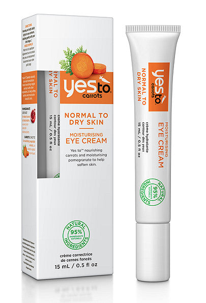 Yes To Carrots Moisturising Eye Cream. Dead Sea Minerals Formulated without Parabens, - SustainTheFuture - 2