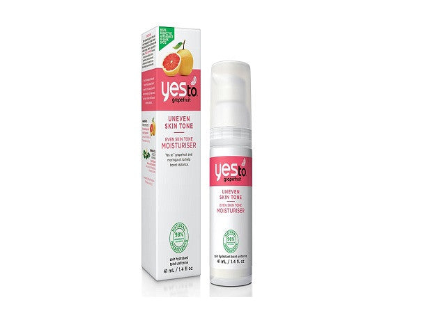 Yes to Grapefruit Even Skin Tone Daily Moisturiser. Will help to reduce the appearance of dark spots - SustainTheFuture - 1