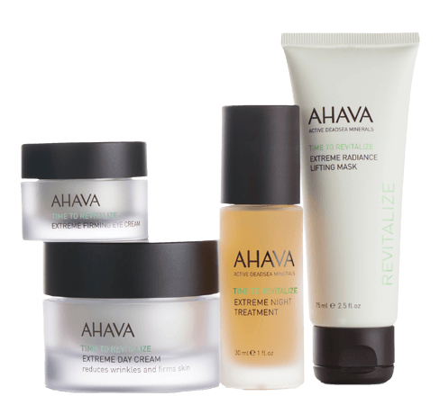 EXTREME FACE BEAUTY CASE. AHAVA's full regimen of anti-aging skincare that leaves skin - SustainTheFuture - 6