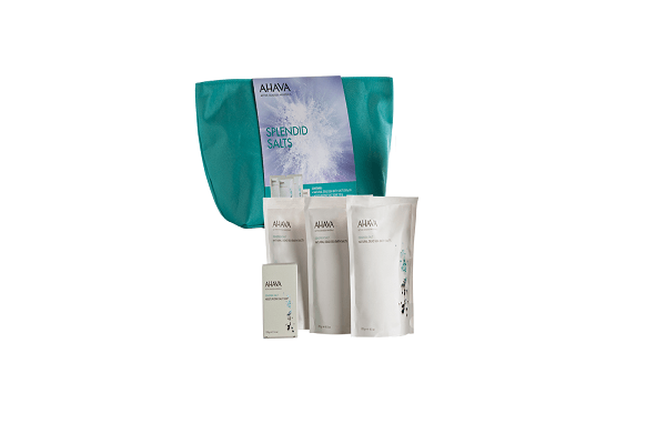 SPLENDID SALTS KIT.  making this kit the next best thing to visiting the Dead Sea shores. - SustainTheFuture - 1