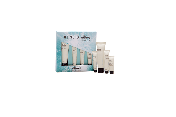 THE BEST OF AHAVA STARTER KIT. A selection of AHAVA's best sellers for body and face. - SustainTheFuture - 1