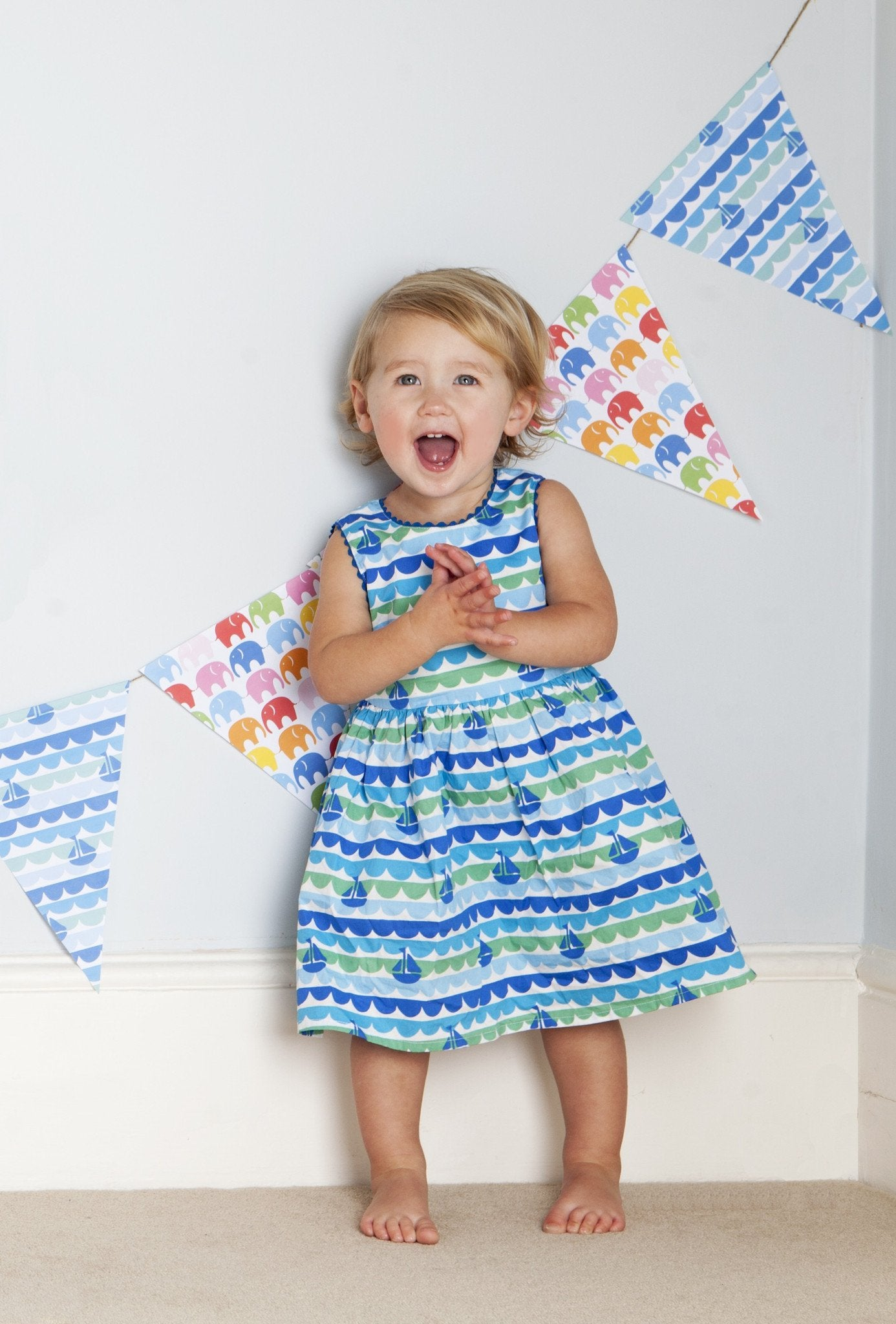 Cotton Party Dress Boat - 100% Cotton pretty party dresses are much ...