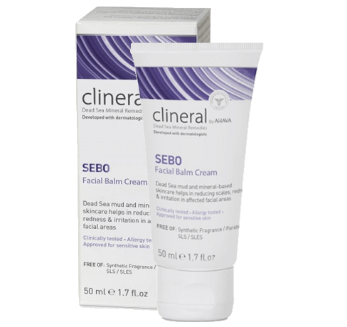 CLINERAL SEBO FACIAL BALM CREAM. Rich creamy texture relieves soreness & discomfort - SustainTheFuture - 2