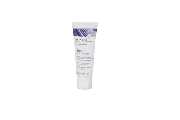 CLINERAL SEBO FACIAL BALM CREAM. Rich creamy texture relieves soreness & discomfort - SustainTheFuture - 1