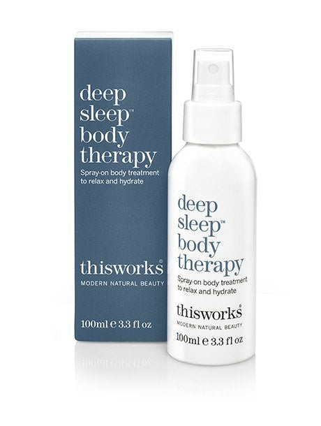 deep sleep body therapy 100ml. Spray on body treatment to relax and hydrate. - SustainTheFuture - 2