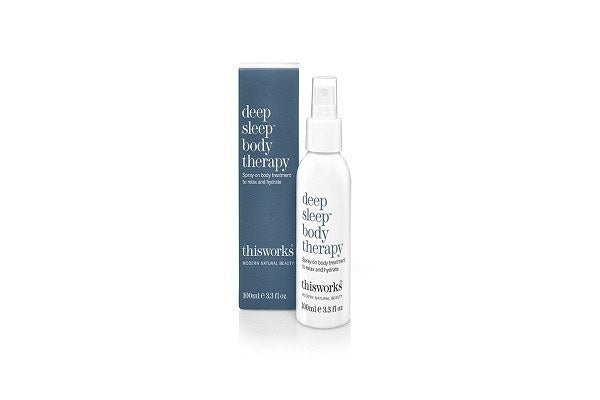 deep sleep body therapy 100ml. Spray on body treatment to relax and hydrate. - SustainTheFuture - 1