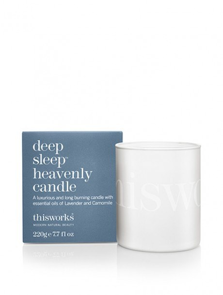 deep sleep heavenly candle 220g. A luxurious, long burning candle hand blended - SustainTheFuture - 2