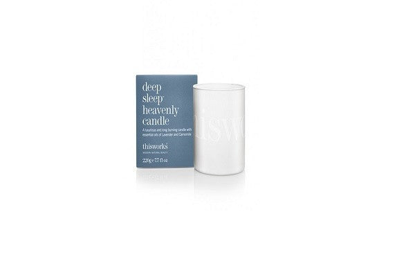 deep sleep heavenly candle 220g. A luxurious, long burning candle hand blended - SustainTheFuture - 1