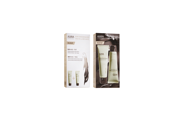 DERMUD INTENSIVE DUO KIT: HAND & FOOT CREAM. smooth and moisturize hands and feet. - SustainTheFuture - 1