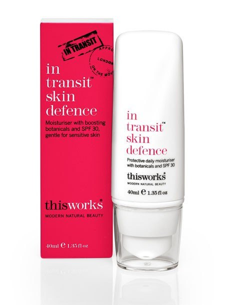 in transit skin defence SPF30 40ml. Moisturiser with boosting botanicals and SPF 30, - SustainTheFuture - 2