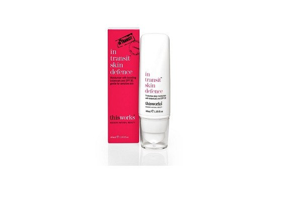 in transit skin defence SPF30 40ml. Moisturiser with boosting botanicals and SPF 30, - SustainTheFuture - 1