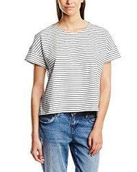 People Tree Women's Organic Brittany Stripe Striped Short Sleeve T-Shirt - SustainTheFuture