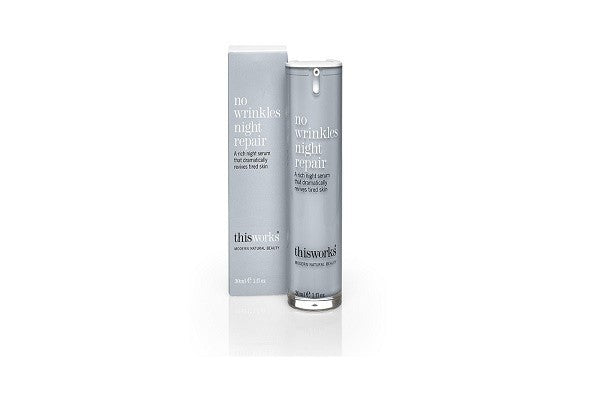 no wrinkles night repair 30ml. A luxurious night serum that reduces and delays - SustainTheFuture - 1