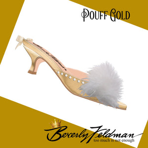 Pouff Gold Your Fantasy Slipper
