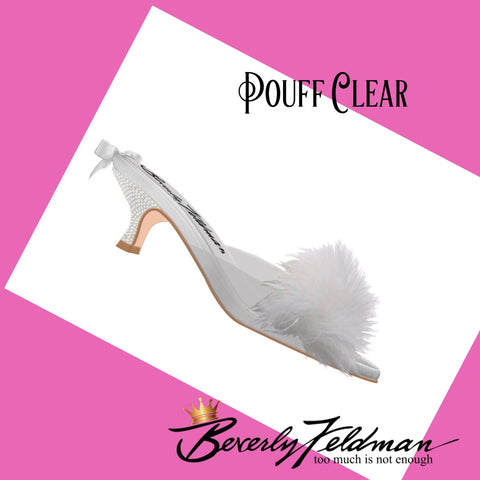Pouff Clear Your Fantasy Slipper