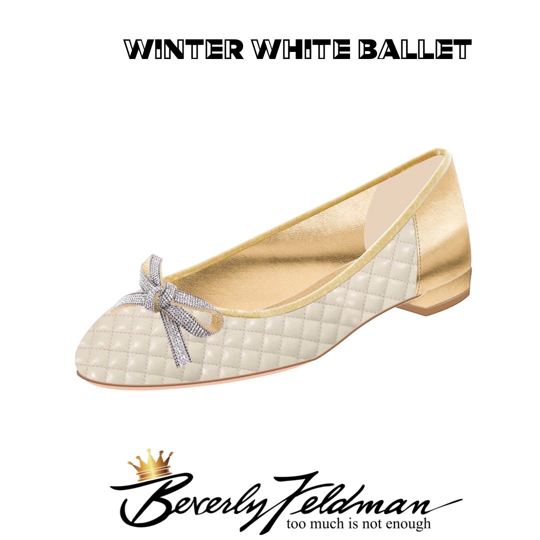 Winter White Ballerina