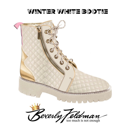 Winter White Bootie