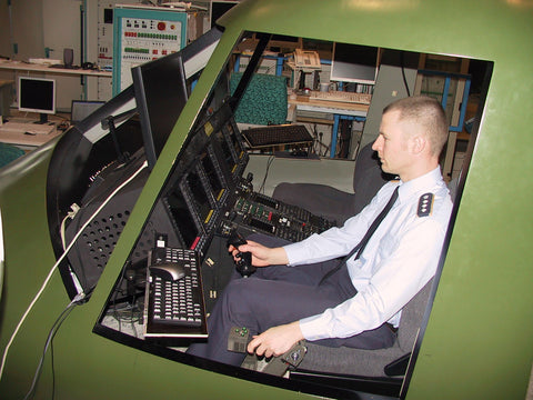 Airbus (Ex Eurocopter) NH90 procedural simulator with Pro Flight Trainer controls