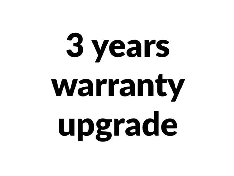 Warranty Upgrade 3 years