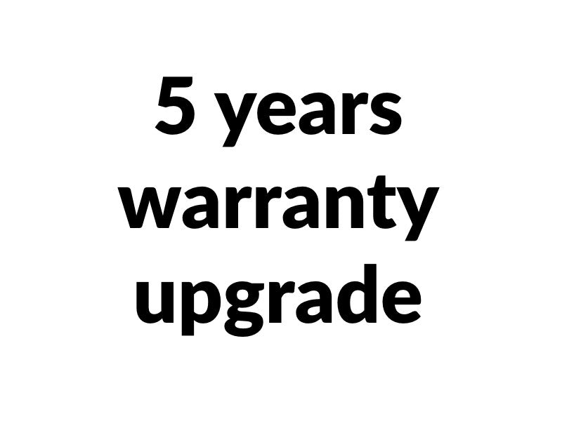 Warranty Upgrade 5 years
